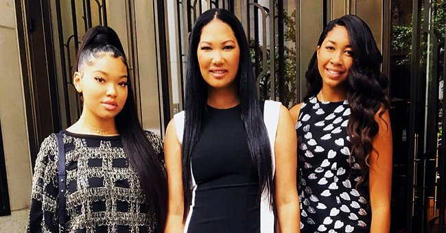 Kimora Lee Simmons' Daughter Aoki Shares Beautiful Black & White Family Pic with Mom & Siblings