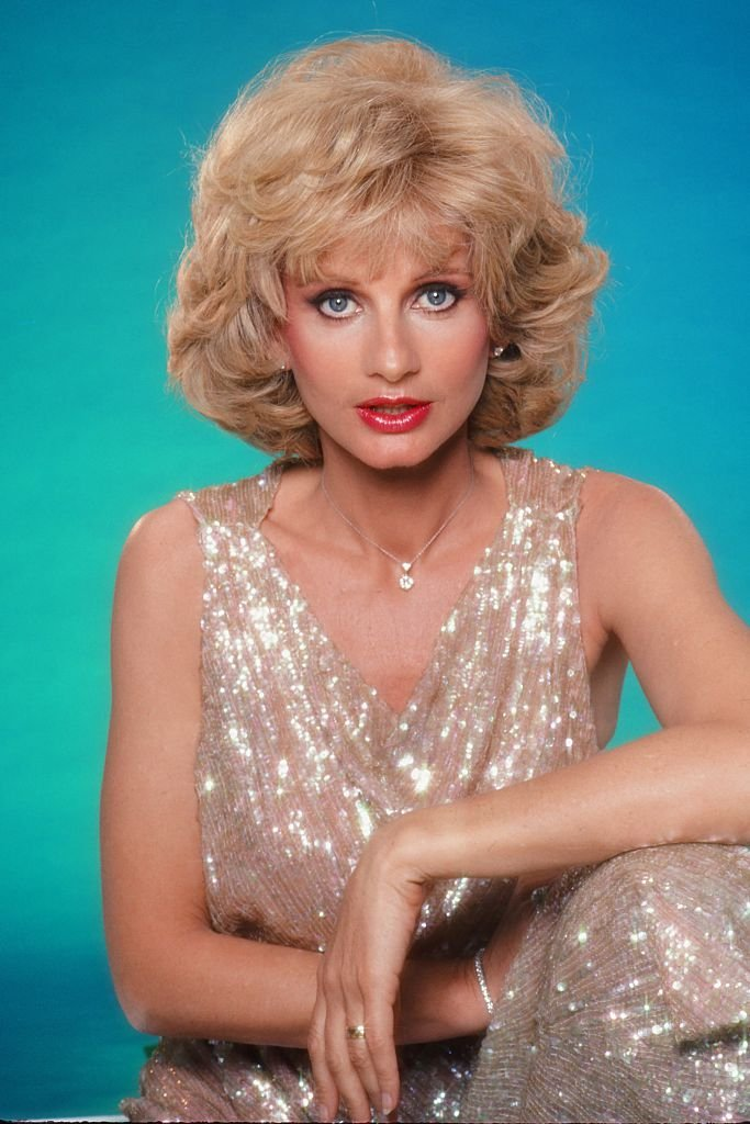 Portrait of Jill Ireland in 1983 in Los Angeles, California   Photo: Getty Images