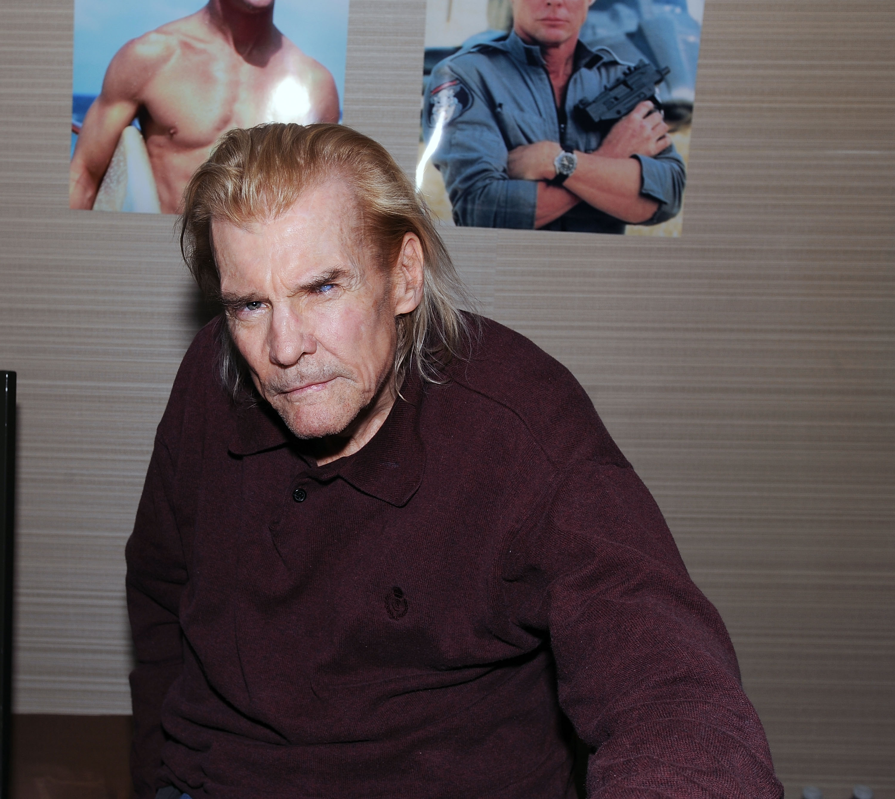 Jan Michael Vincent attends Chiller Theatre Expo Spring 2017 at Hilton Parsippany on April 21, 2017   Photo: Getty Images