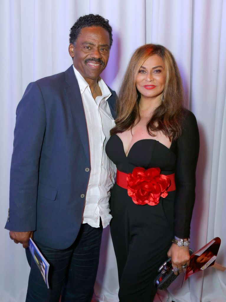 Richard Lawson and Tina Knowles Lawson at HollyRod Foundation's DesignCare Gala in 2017 in Pacific Palisades, California | Source: Getty Images