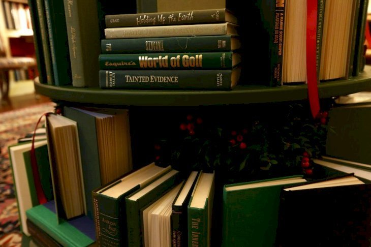 A set of classical books on a shelf   Photo: Getty Images