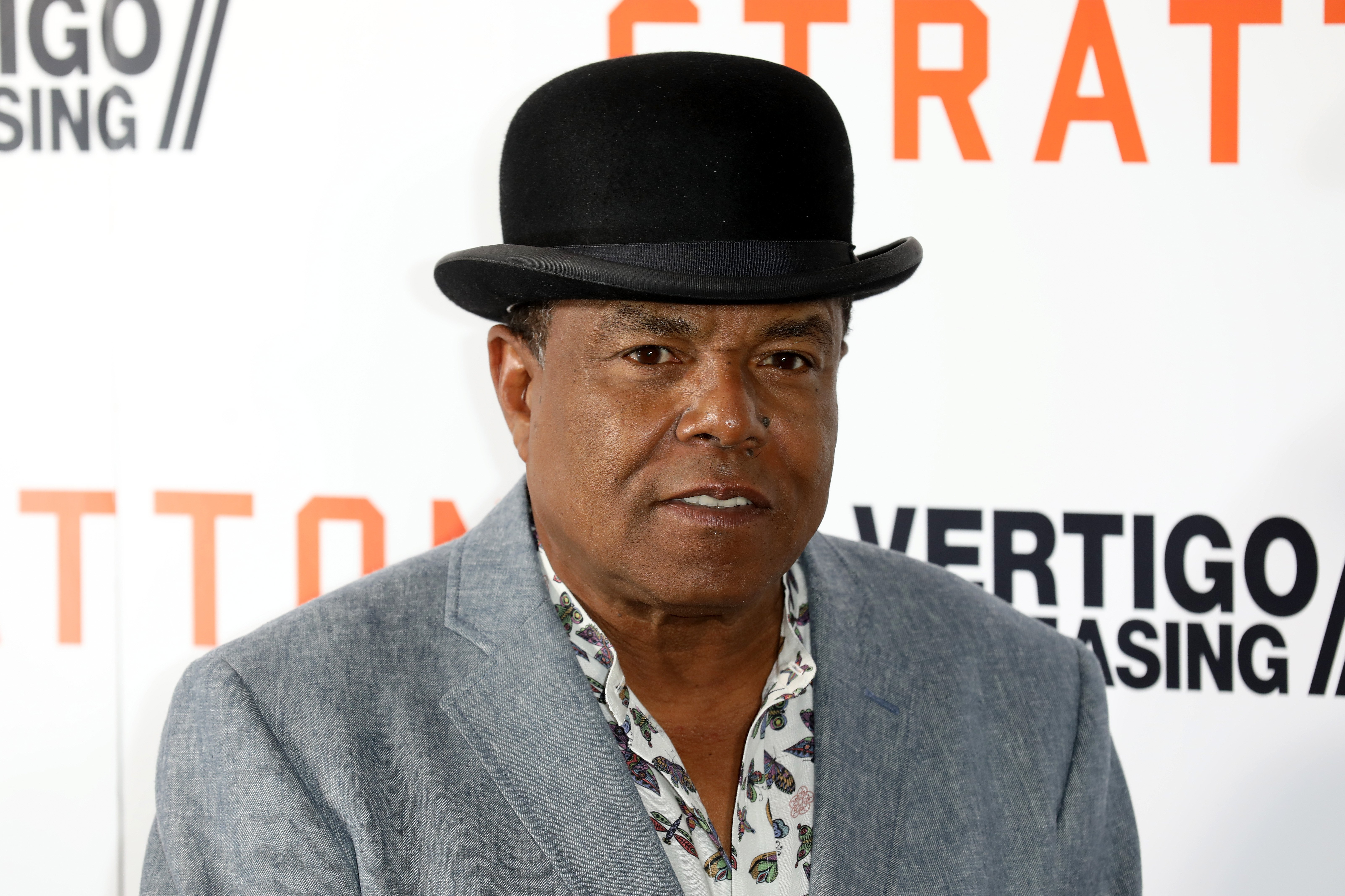 Tito Jackson attends the 'Stratton' UK premiere at the Vue West End on August 29, 2017, in London, England. | Source: Getty Images.