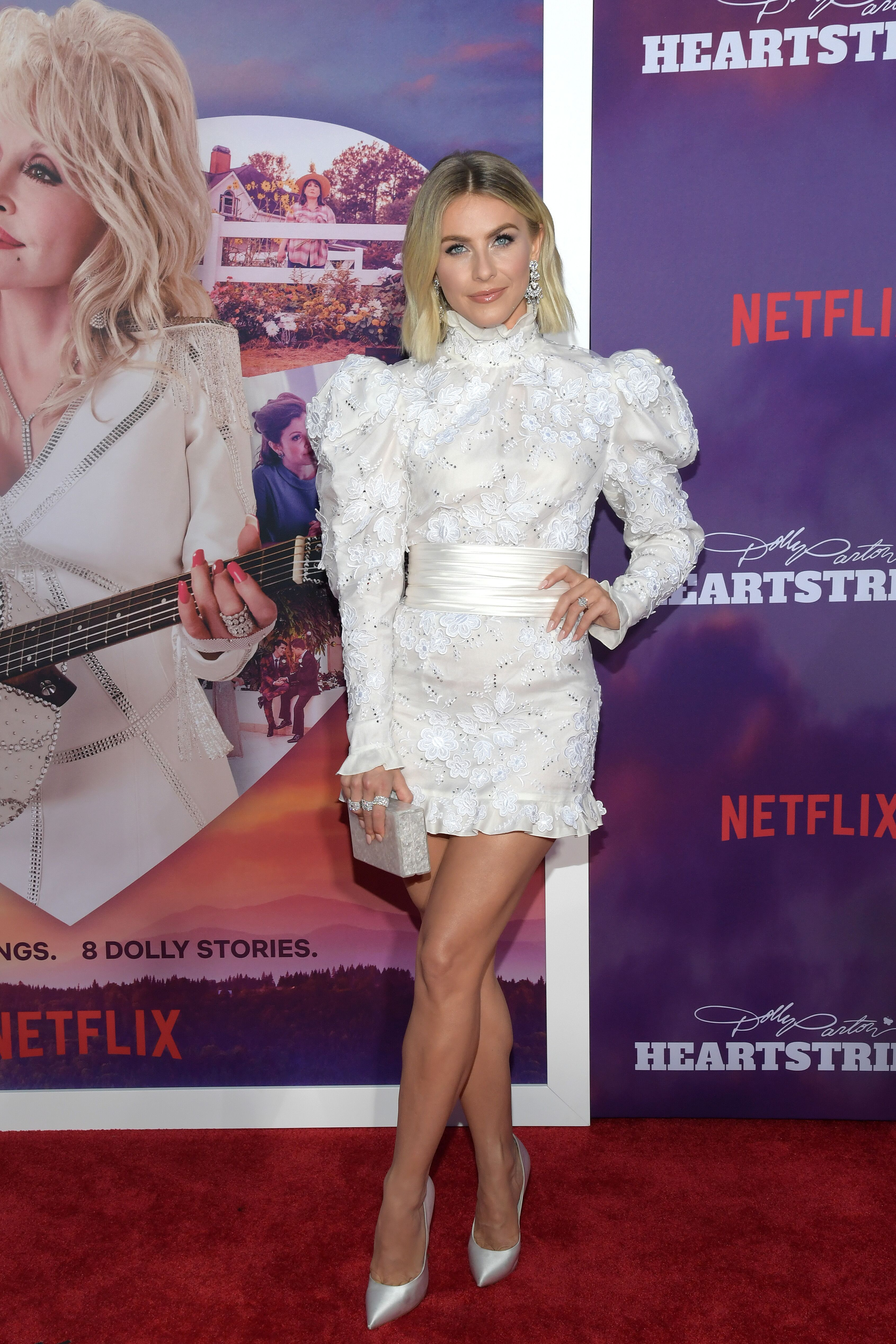 Julianne Hough at the Netflix Premiere of Dolly Parton's Heartstrings on October 29, 2019, in Pigeon Forge, Tennessee | Photo: Getty Images