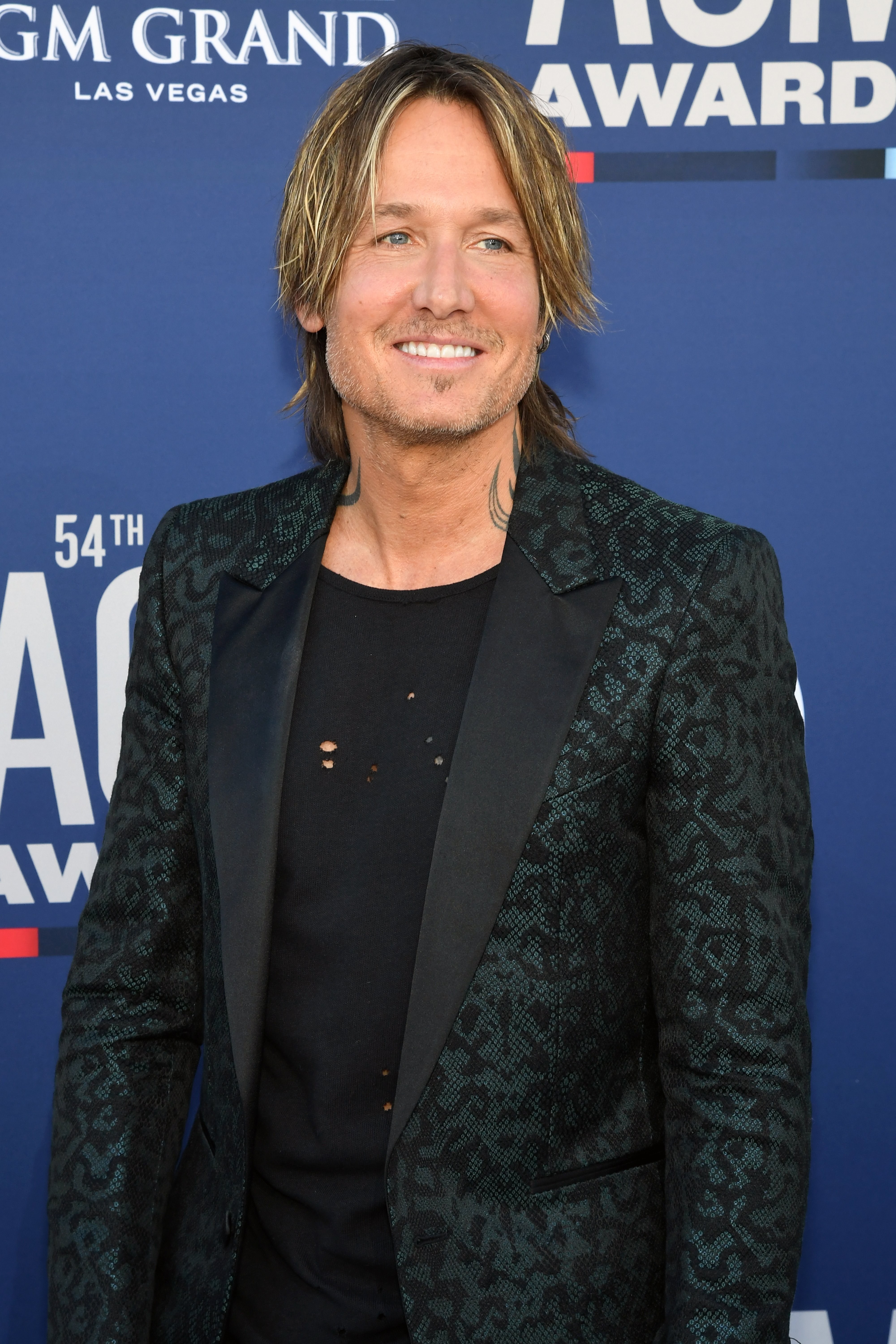 Keith Urban at the 54th Academy Of Country Music Awards in Las Vegas, Nevada | Photo: Getty Images