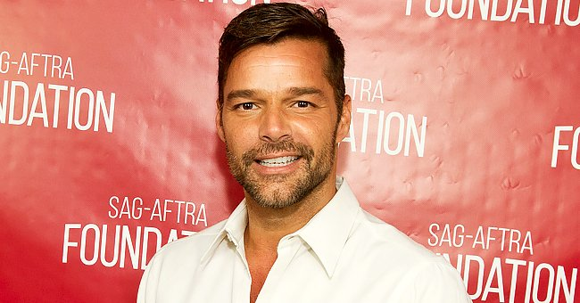 Ricky Martin, 49, Debuts a Bleached Beard in a Selfie on the Beach While Enjoying His Vacation