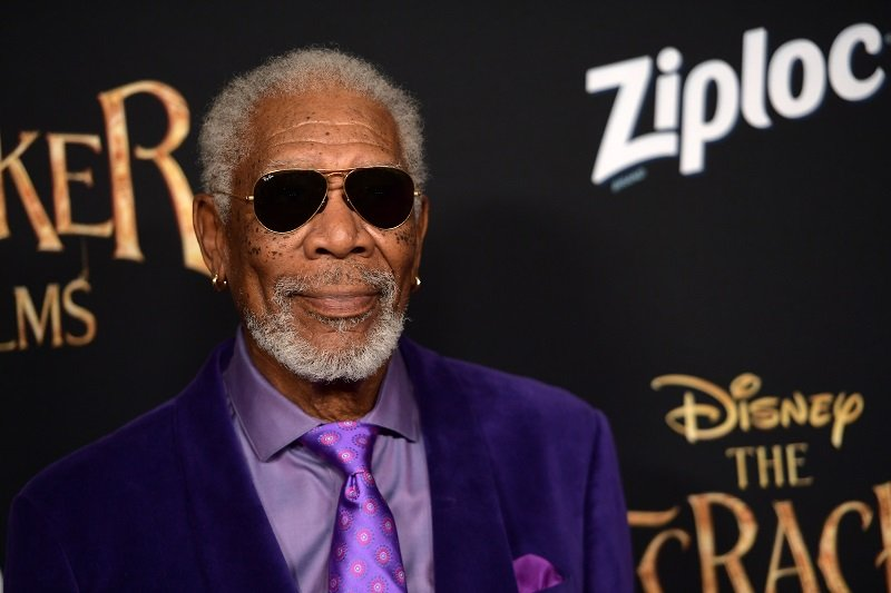 Morgan Freeman on October 29, 2018 in Hollywood, California | Photo: Getty Images