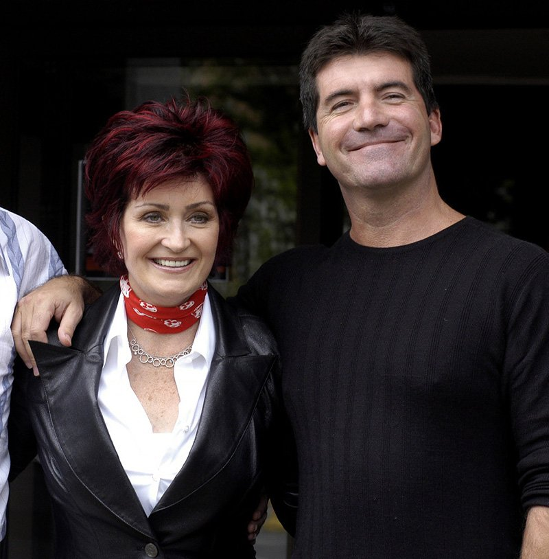 Sharon Osbourne and Simon Cowell. I Image: Getty Images.
