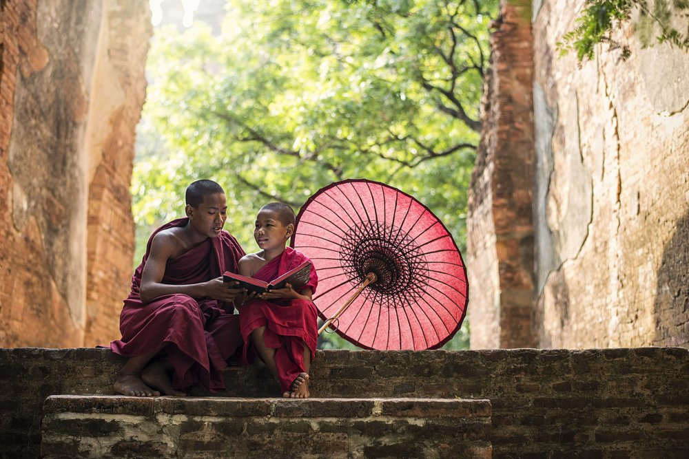 The young monk went to report his discovery   Photo: Shutterstock