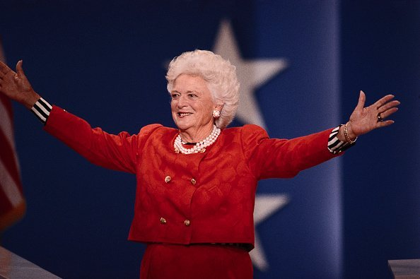 Barbara Bush at Republican Party National Convention | Photo: Getty Images