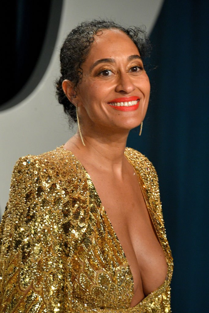 Tracee Ellis Ross at the 2020 Vanity Fair Oscar party at Wallis Annenberg Center for the Performing Arts on February 09, 2020 in Beverly Hills, California. | Source: Getty Images