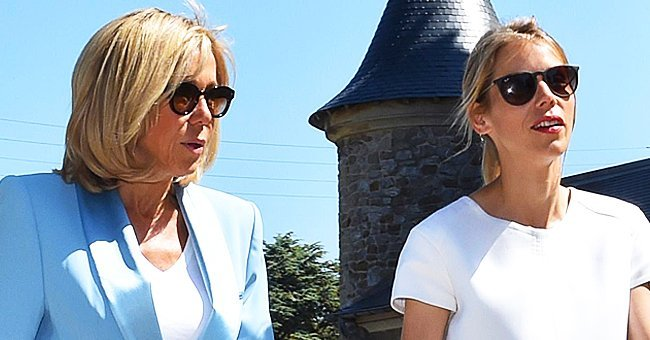 Brigitte Macron et sa fille Tiphaine Auzière. | Photo : Getty Images