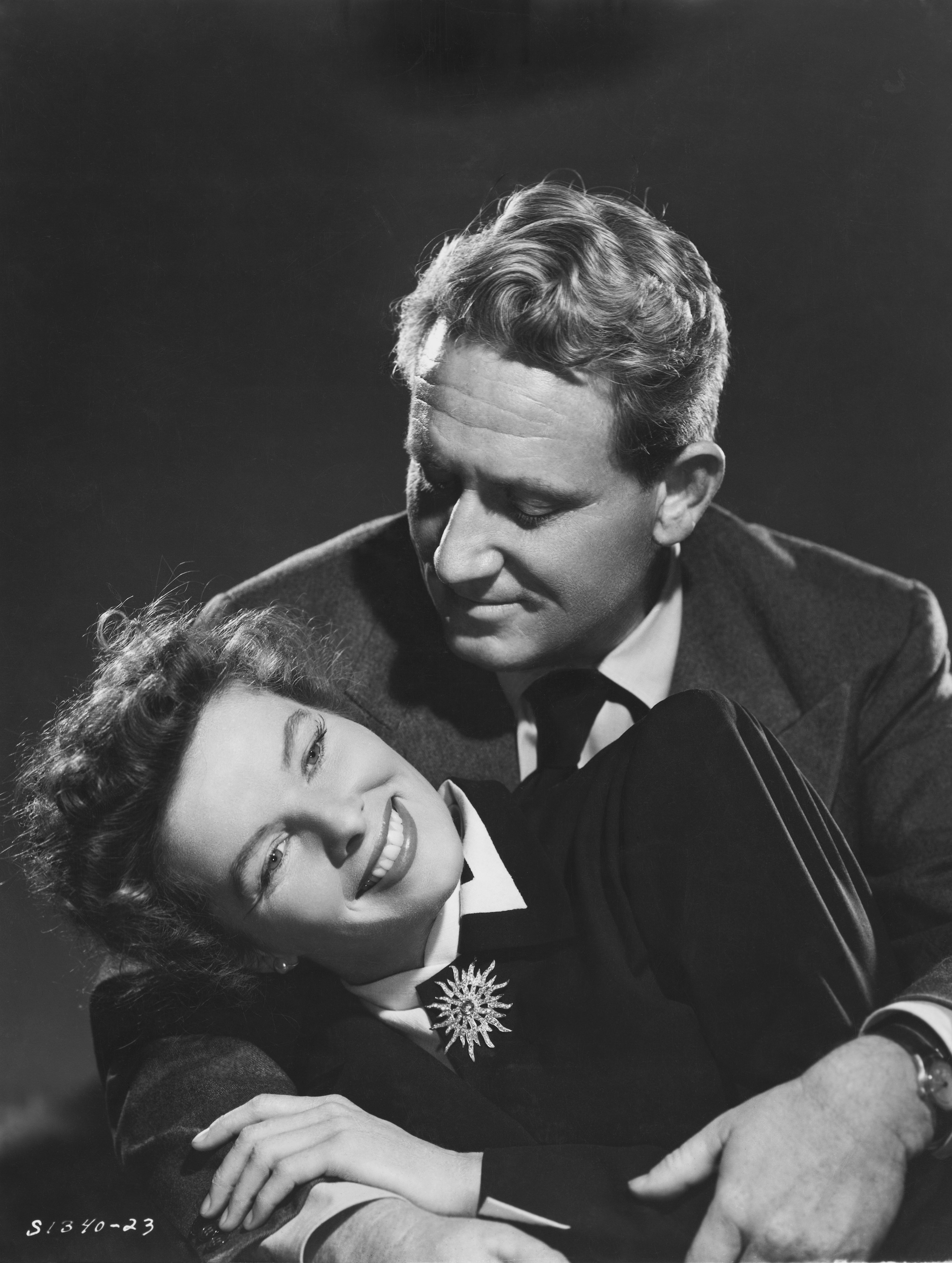 Actors Spencer Tracy and Katharine Hepburn   Source: Getty Images