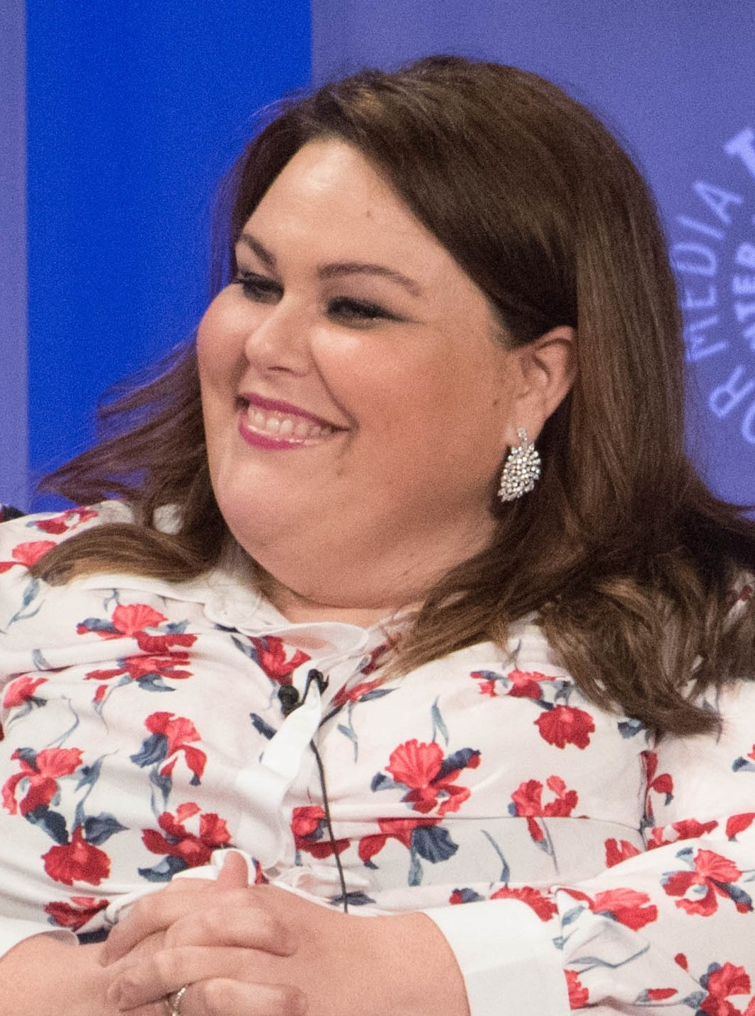 "Chrissy Metz at the 2017 paleyfest to promote ""This is us"" 