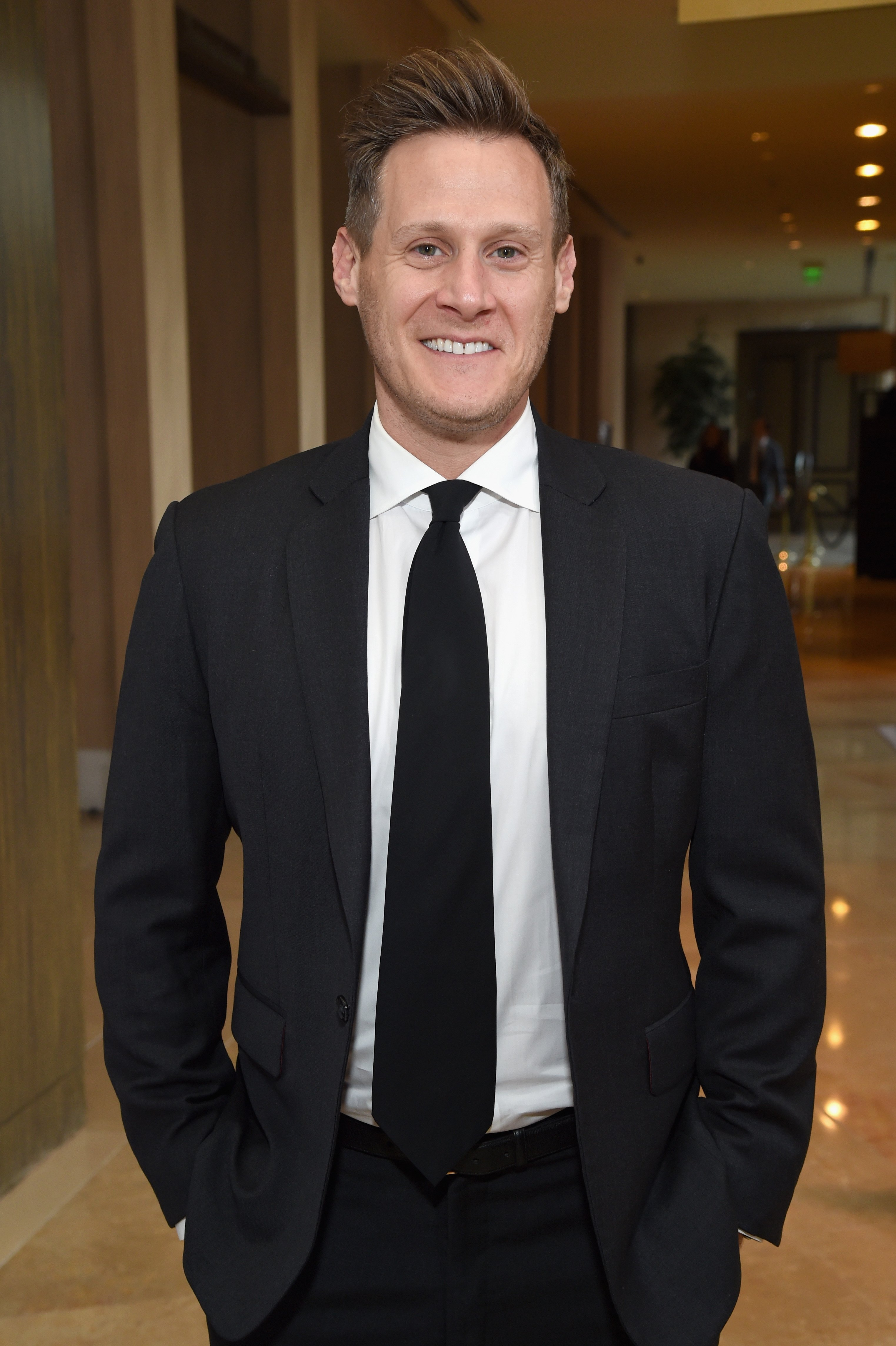 Trevor Engelson attends the Anti-Defamation League Entertainment Industry Dinner on April 17, 2018, in Beverly Hills, California. | Source: Getty Images.