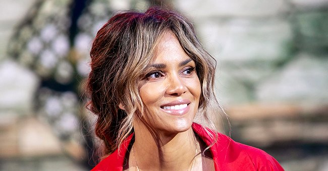 Halle Berry, 54, Flaunts Killer Curves in Sports Bra & Tight Pants Sitting beside Her Trainer