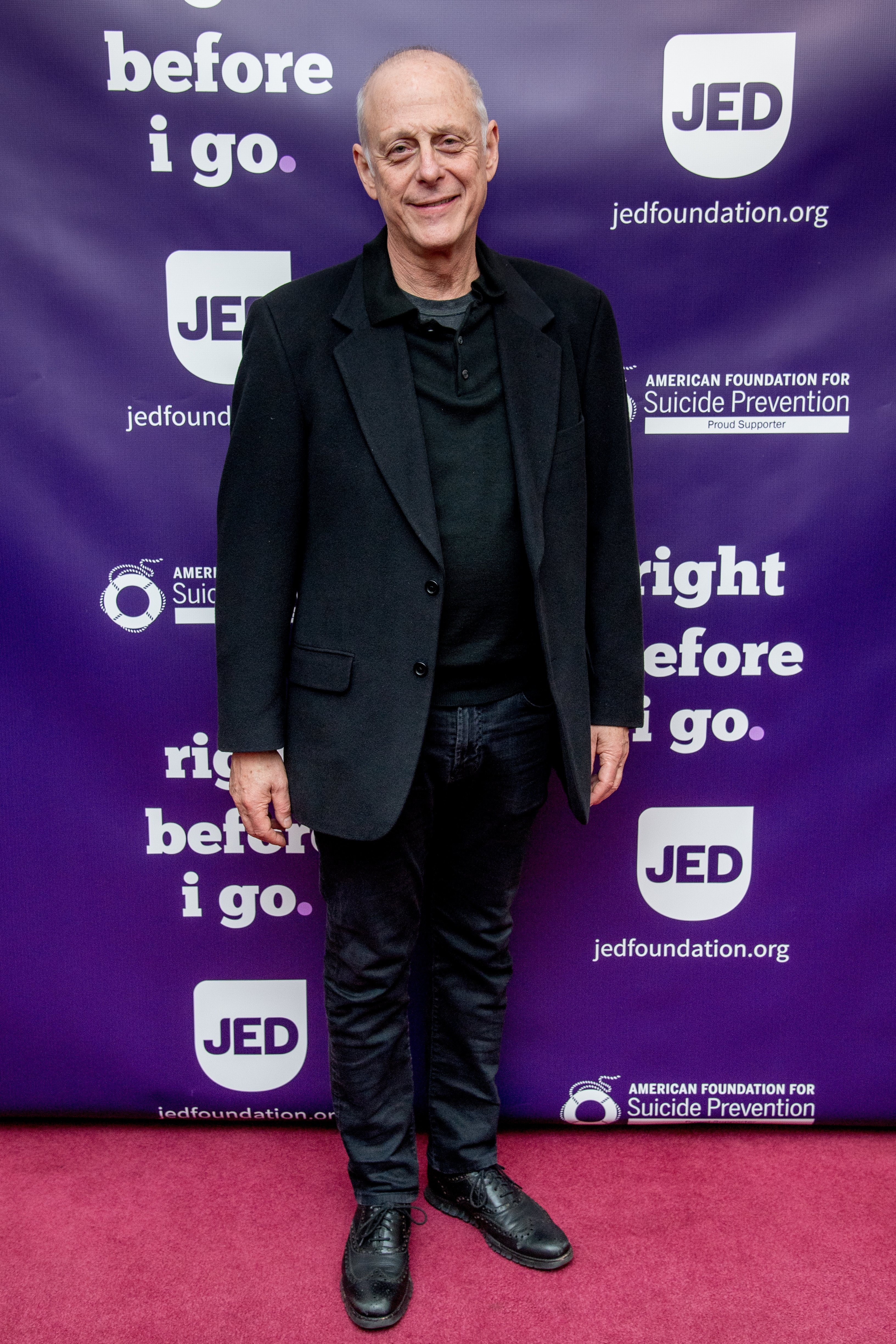 """Mark Blum attends the """"Right Before I Go"""" Benefit performance at Town Hall on December 4, 2017 in New York City. 