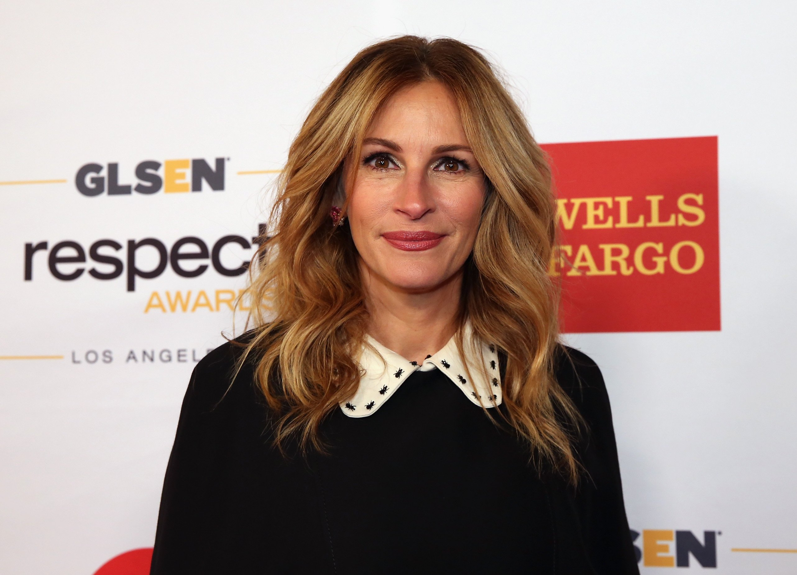 Julia Roberts attends the 2016 GLSEN Respect Awards - Los Angeles at the Beverly Wilshire Four Seasons Hotel on October 21, 2016, in Beverly Hills, California. | Getty Images.