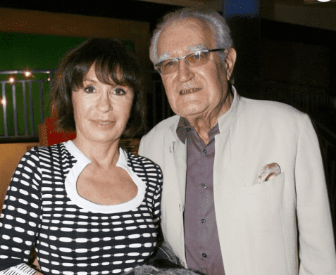 Georges Fillioud et Danièle Evenou. | Photo : Purepeople