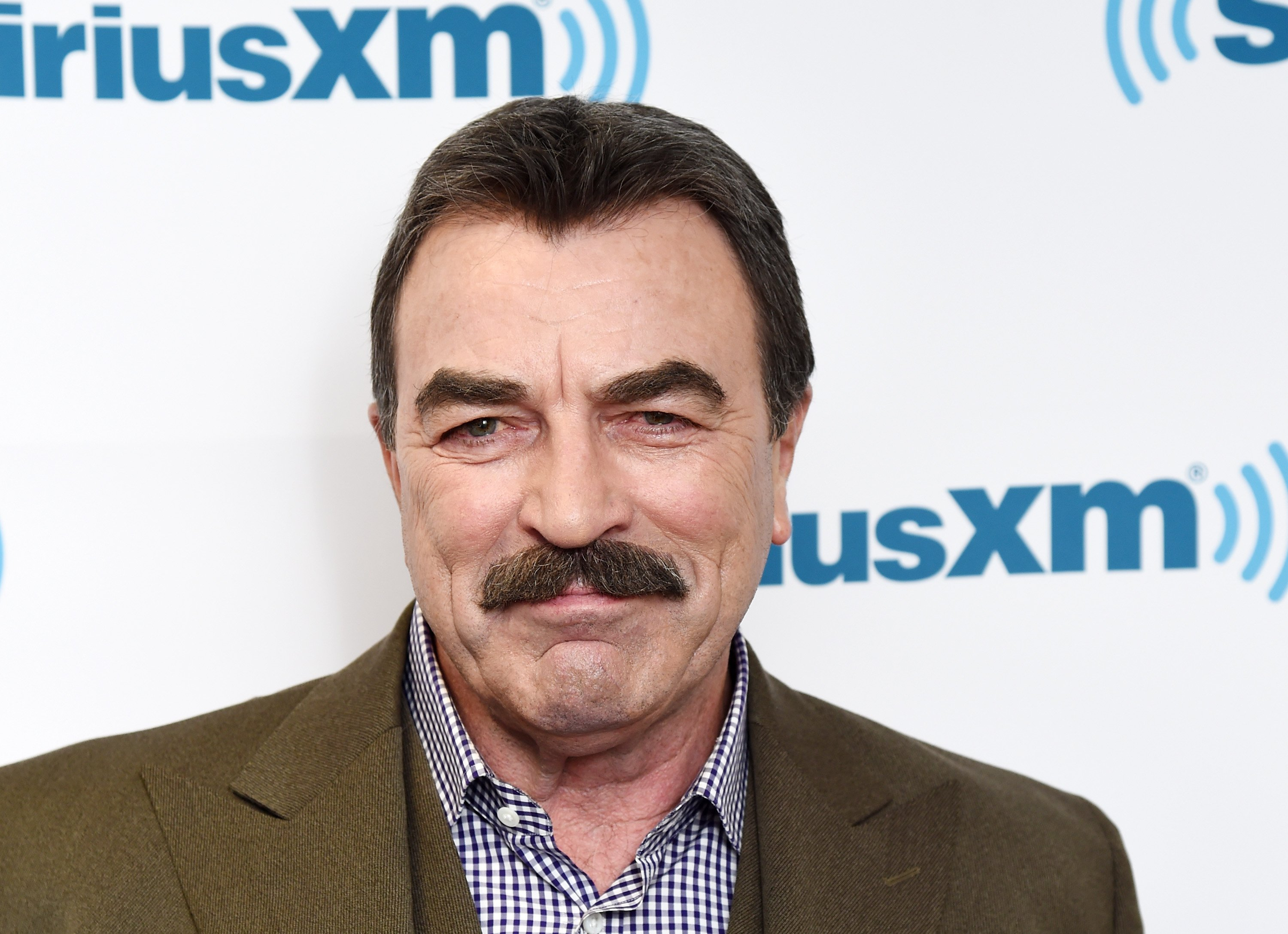 Tom Selleck visits the SiriusXM Studios on October 15, 2015 | Photo: GettyImages