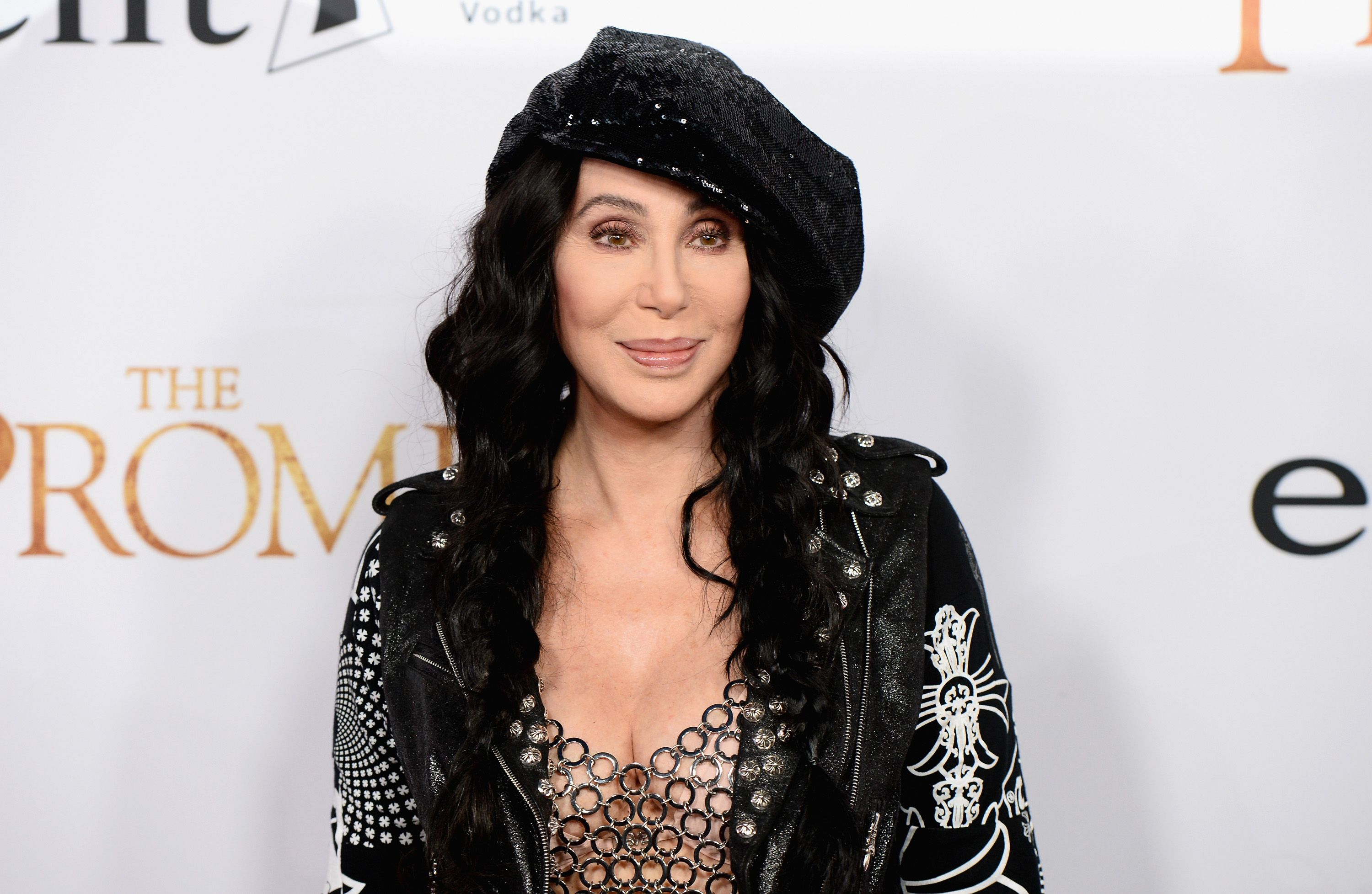 Cher at the Los Angeles premiere of 'The Promise' at TCL Chinese Theatre on April 12, 2017 | Photo: Getty Images
