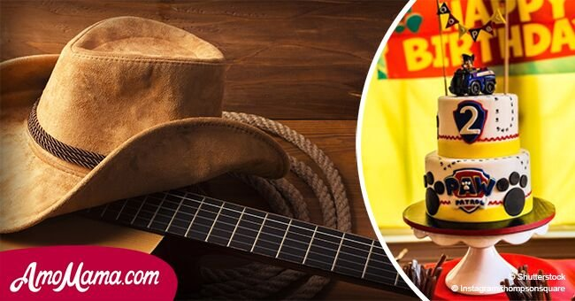 Сountry music star's little son is the cutest thing ever at his 2nd birthday party