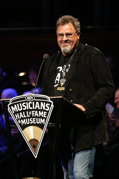 Vince Gill at Schermerhorn Symphony Center on October 22, 2019 in Nashville, Tennessee. | Photo: Getty Images