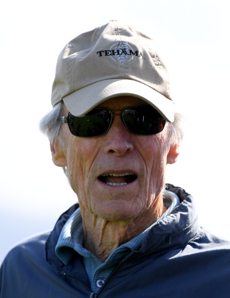 Clint Eastwood on the 18th green during the 3M Celebrity Challenge at the AT&T Pebble Beach Pro-Am | Getty Images