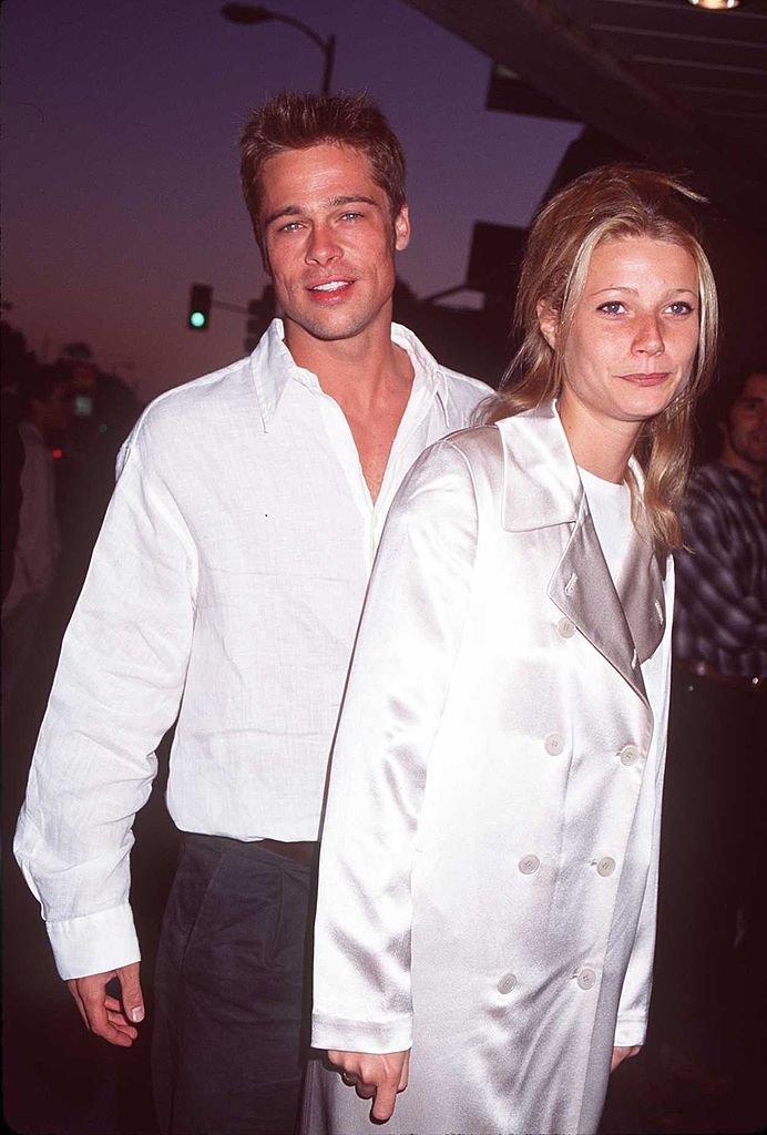 Brad Pitt et Gwyneth Paltrow en 1995. l Source : Getty Images