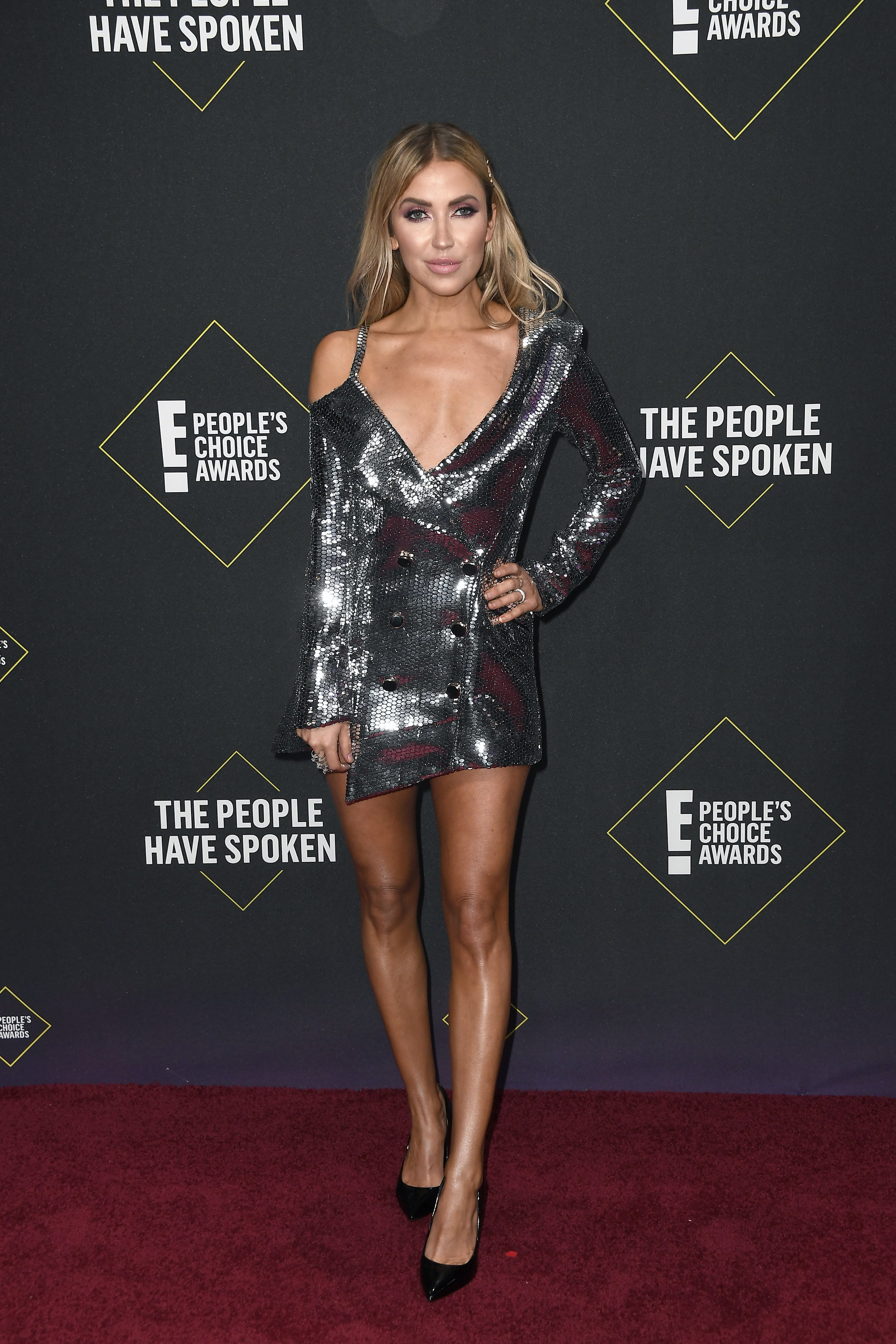 Kaitlyn Bristowe attends the People's Choice Awards in Santa Monica, California on November 10, 2019 | Photo: Getty Images