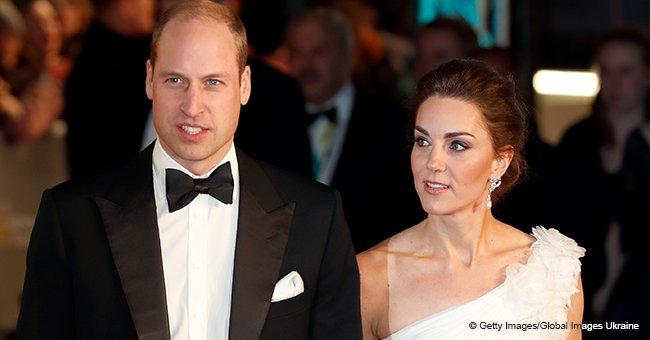 """Kate Middleton se robó el show tras mostrar su hombro en un brillante vestido """"de novia"""""""