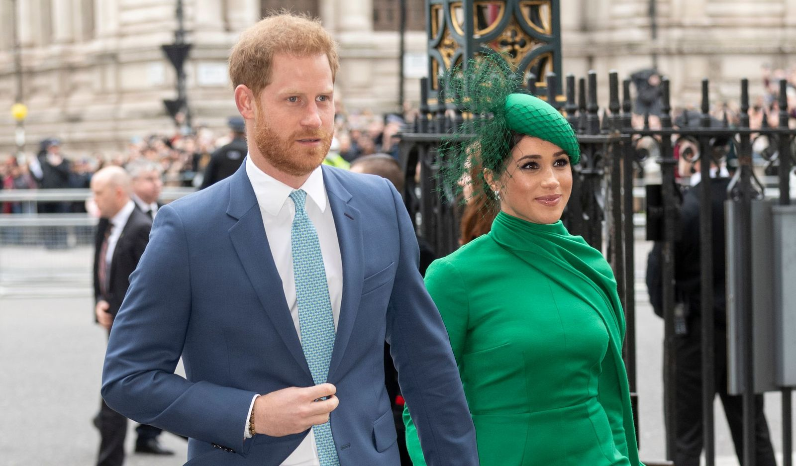 Prince Harry and Meghan at the Commonwealth Day Service 2020 at Westminster Abbey on March 9, 2020 | Photo: Getty Images