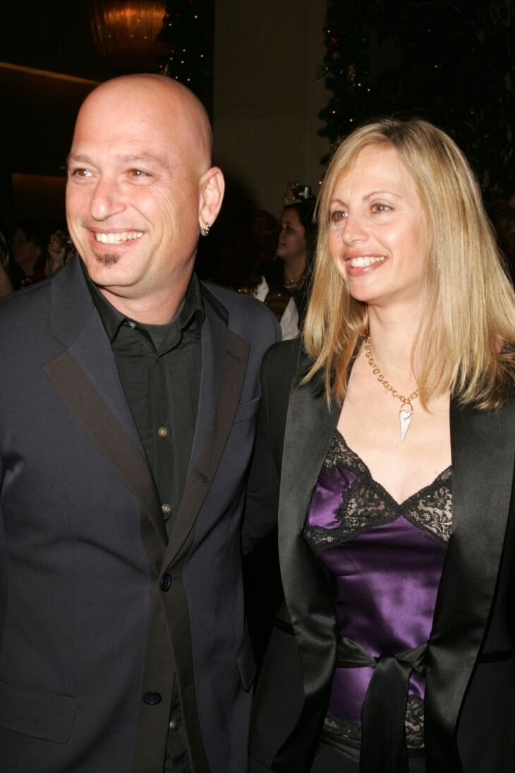 "Howie Mandel and wife Terry at the ""8th Annual Family Television Awards"" at Beverly Hilton 