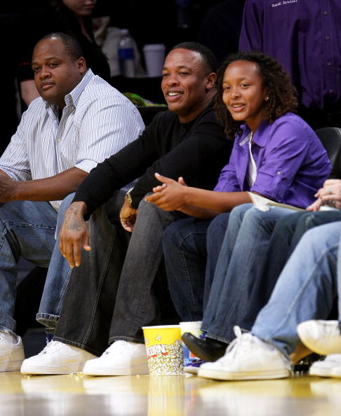 Dr. Dre and his daughter Truly  attend the Los Angeles Lakers Game | Photo: Getty Images