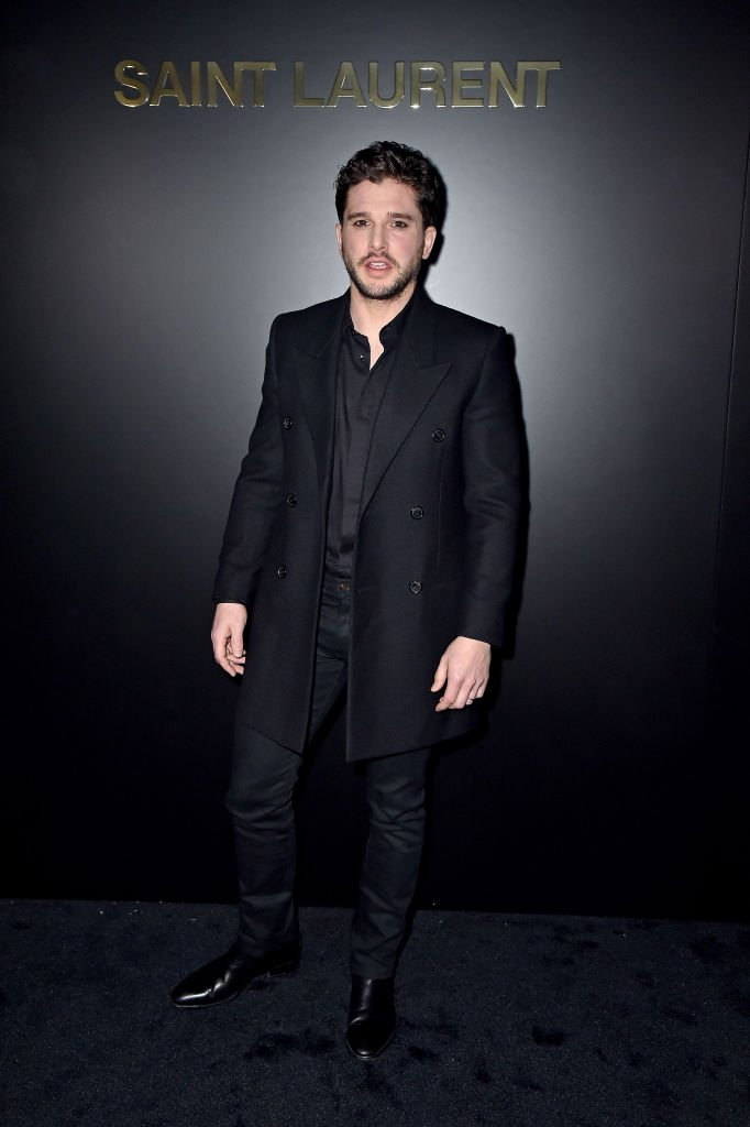 Kit Harington attends the Saint Laurent show as part of the Paris Fashion Week Womenswear Fall/Winter 2020/2021 on February 25, 2020 | Photo: Getty Images