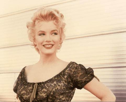 Actress Marilyn Monroe in a scene from 'Bus Stop' in 1956.    Source: Getty Images