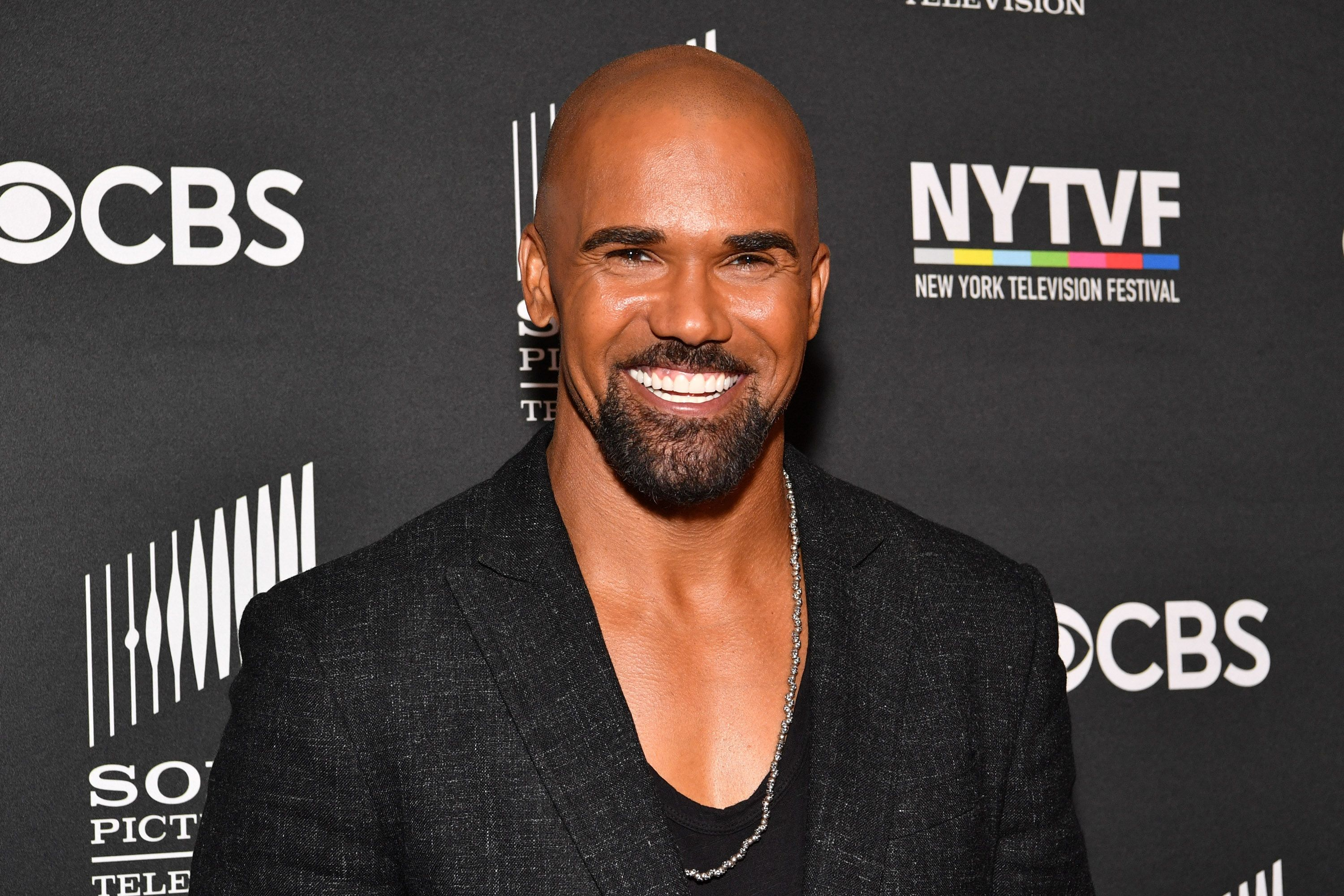 """Shemar Moore at the world premiere of the series """"S.W.A.T.""""  in 2017 in Los Angeles 