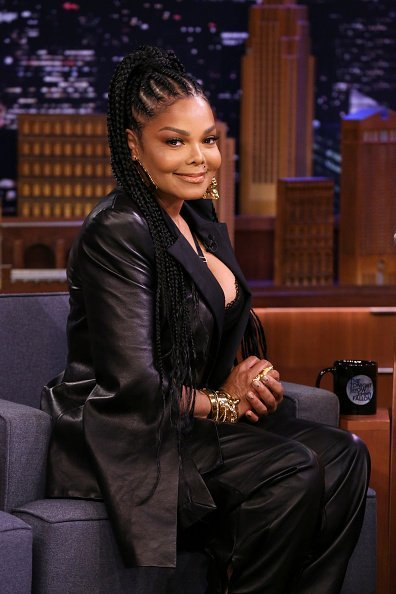 "Janet Jackson during an interview on ""The Tonight Show Starring Jimmy Fallon"" on February 10, 2020. 