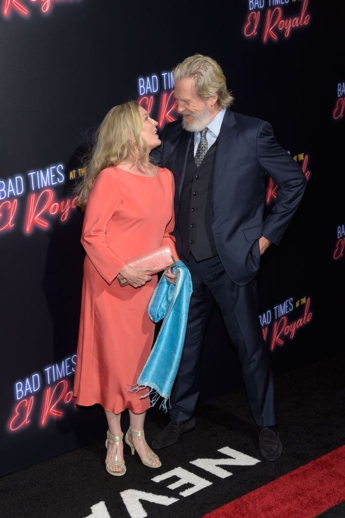 Jeff Bridges and wife Susan Geston on September 22, 2018 in Hollywood, California | Source: Getty Images