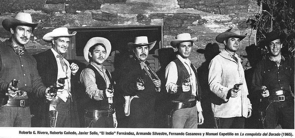 """Roberto Cañedo en el elenco de """"La Conquista del Dorado"""".   Foto: Flickr"""