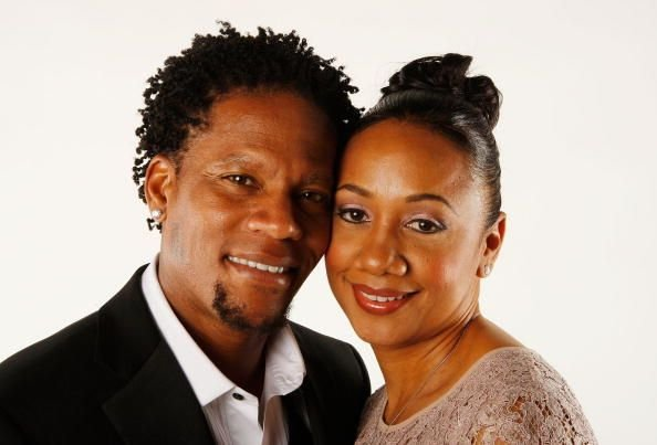 D.L. Hughley and wife Ladonna Hughley at the 39th NAACP Image Awards n 2008 | Source: Getty Images