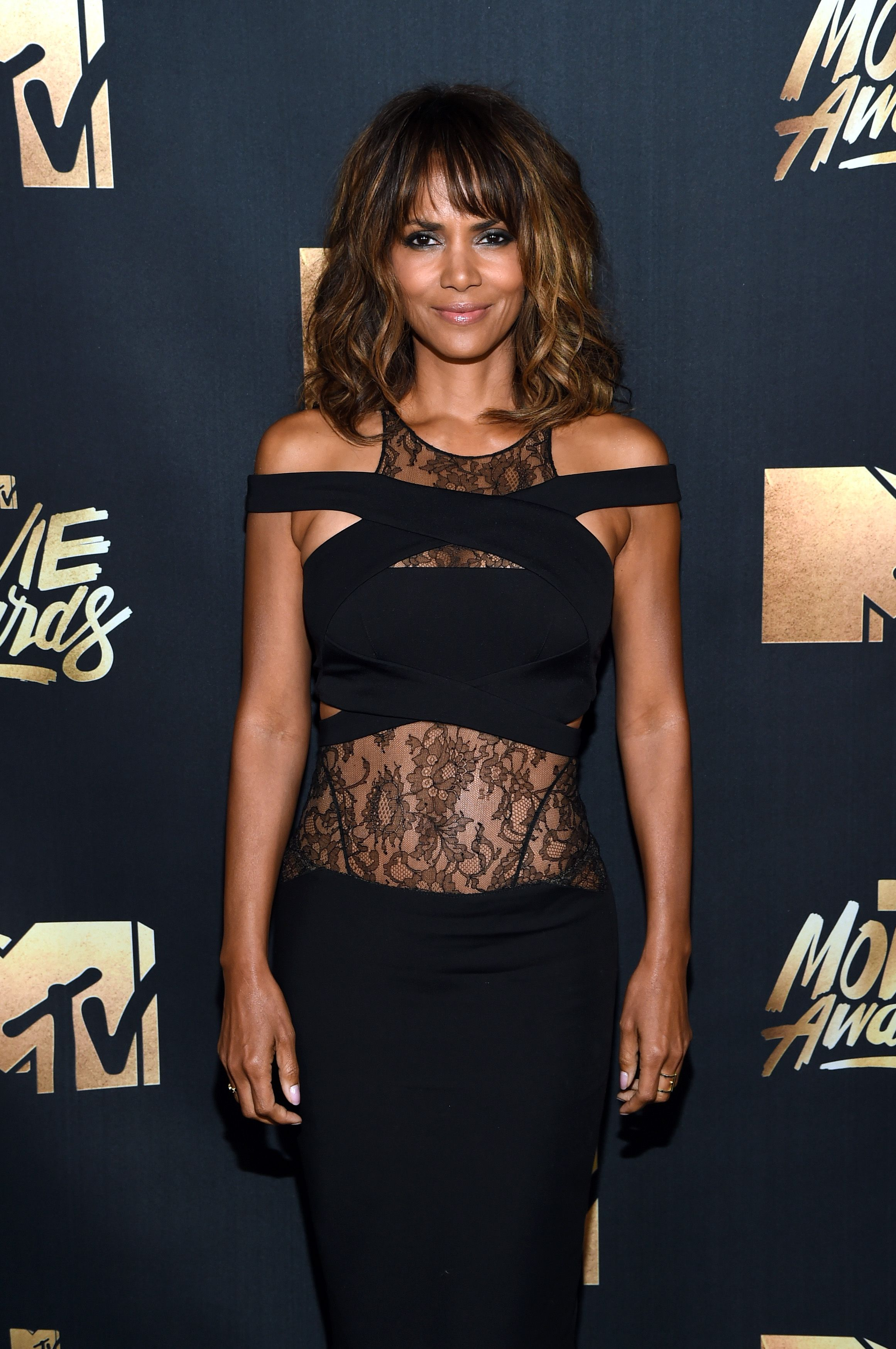 Halle Berry during the 2016 MTV Movie Awards at Warner Bros. Studios on April 9, 2016 in Burbank, California. | Source: Getty Images