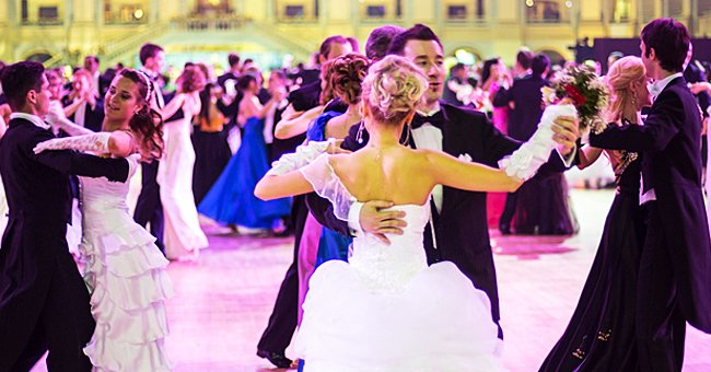 5 Men Were Dancing with Their Wives at a Ball — Try to Find Out Who Danced with Who
