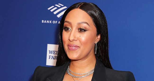 'Sister Sister' Star Tamera Mowry Warms Hearts with a Photo of Her 7-Year-Old Son Kissing Her