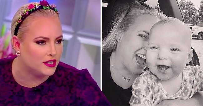 Meghan McCain's Fans Defend Her under Baby Car Seat Comment on New Photo with Daughter