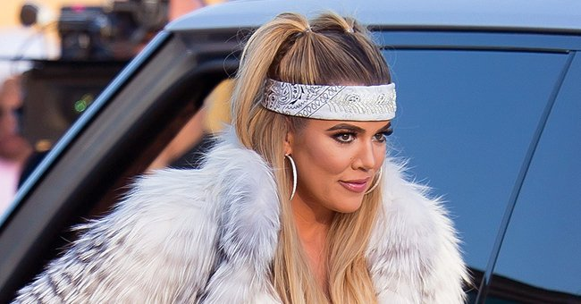 Khloé Kardashian's Daughter True Looks like a Fashionista as She Poses in a Beige Hat (Photos)