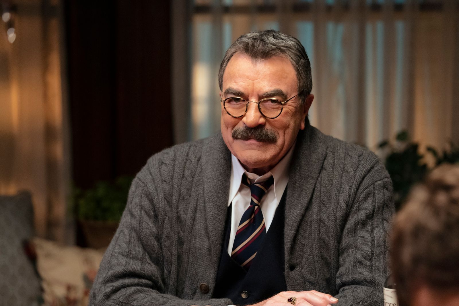 "Tom Selleck as Frank Reagan on ""Blue Bloods"" 