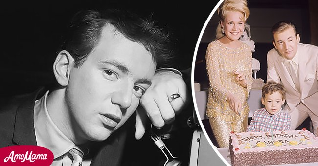 Pictures of Bobby Darin and Sandra Dee with their kid, Dodd    Photo: Getty Images