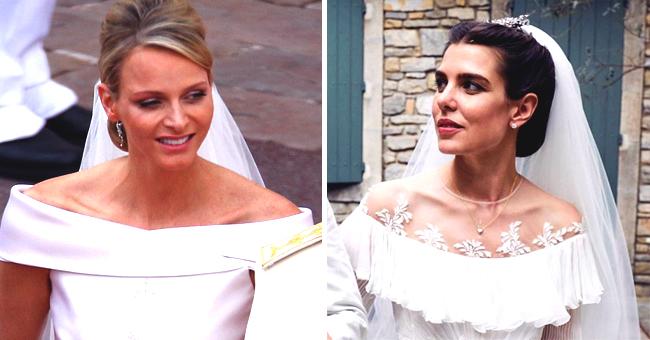 Pour son mariage, Charlotte Casiraghi a emprunté un bijou familial à Charlene de Monaco