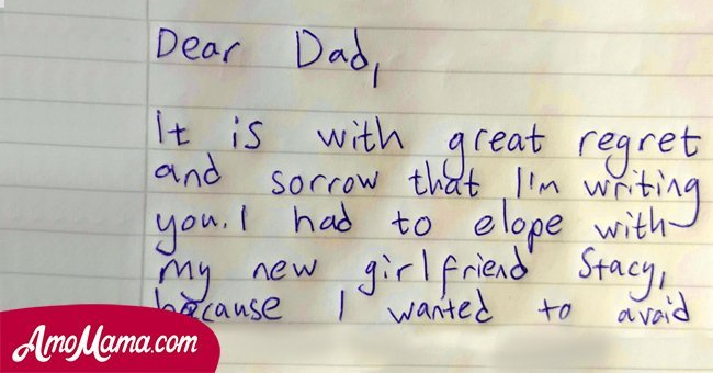 Dad realizes something is wrong with son's room, then he finds a note that leaves him stunned