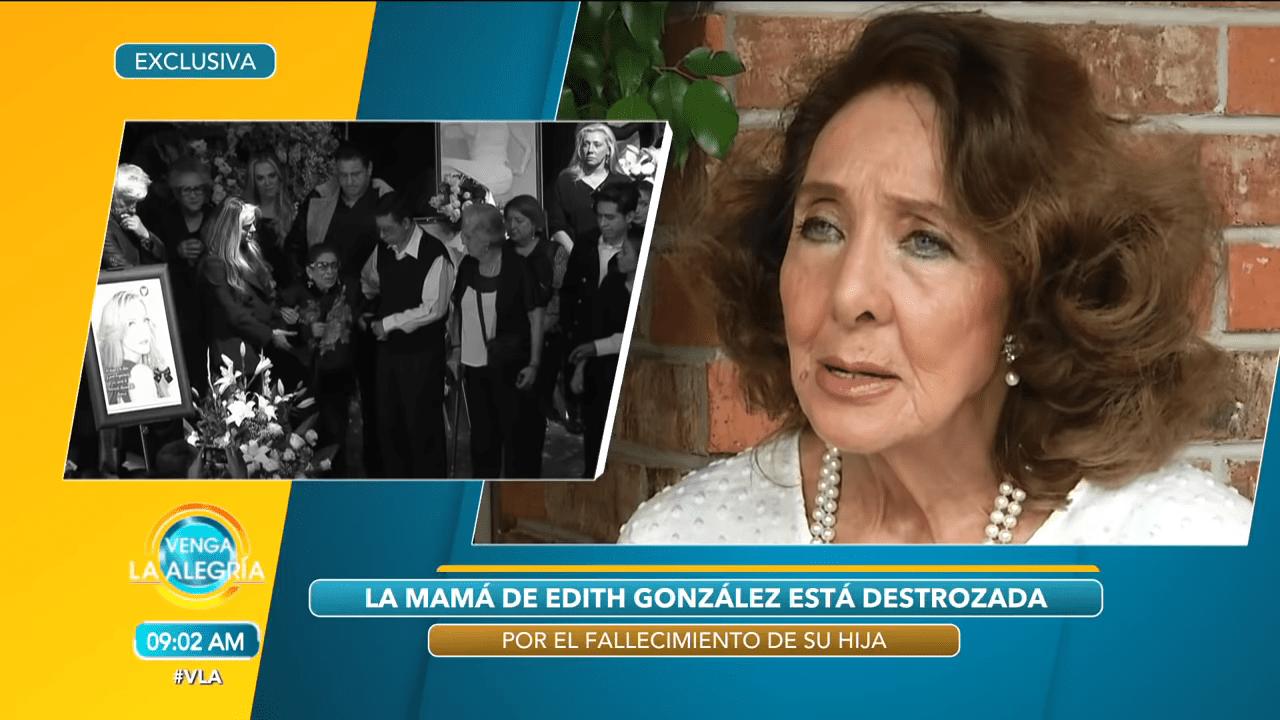 Lorena Velasquez hablando del caso de la mamá de Edith│Imagen tomada de: YouTube / Venga La Alegría